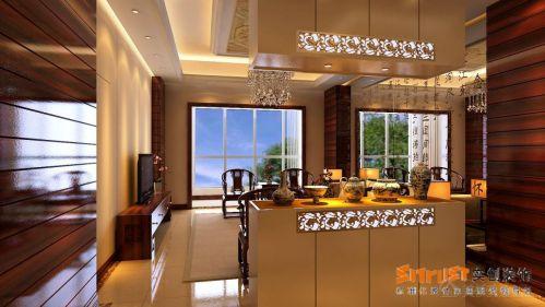 中式中式风格客厅案例展示