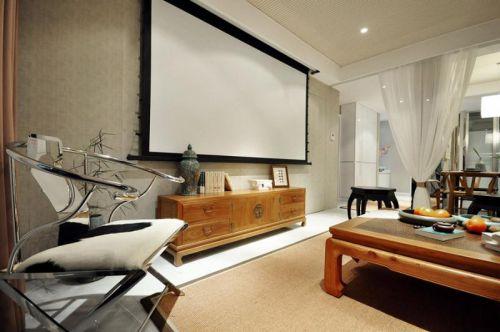 现代简约中式客厅图片