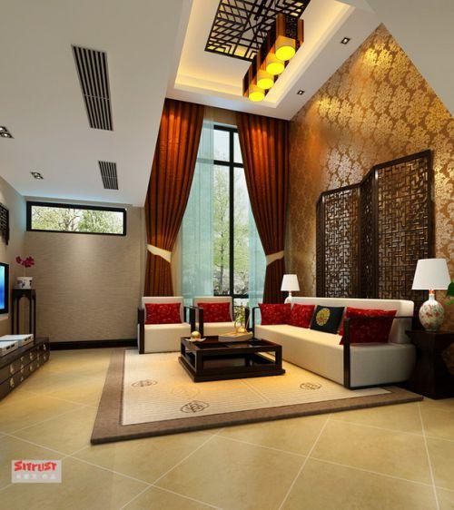 中式中式风格新中式客厅装修图