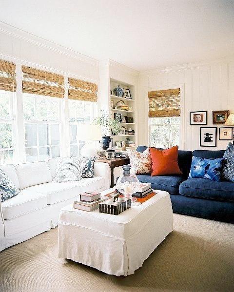 现代简约中式欧式田园美式客厅装修图