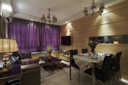 现代简约中式客厅设计方案