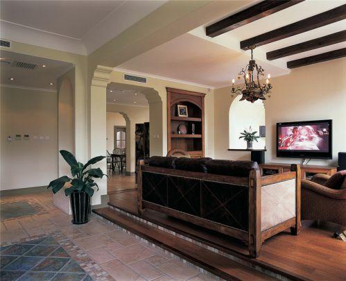 美式客厅吊顶设计图