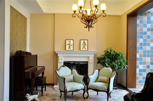 美式客厅别墅案例展示