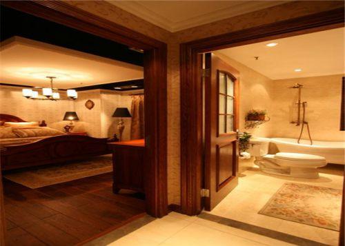 美式客厅卫生间案例展示