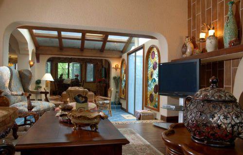 美式客厅别墅设计案例