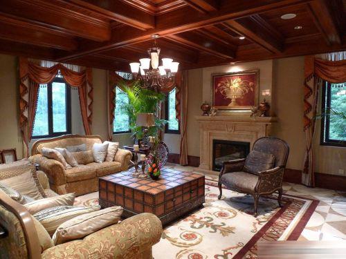 美式客厅设计图