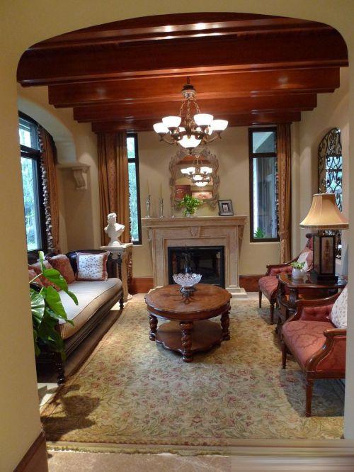 美式客厅案例展示