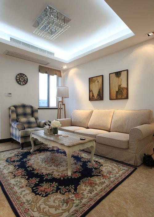 美式客厅设计案例