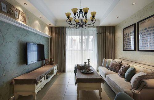 美式客厅设计方案