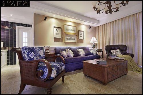 美式客厅图片