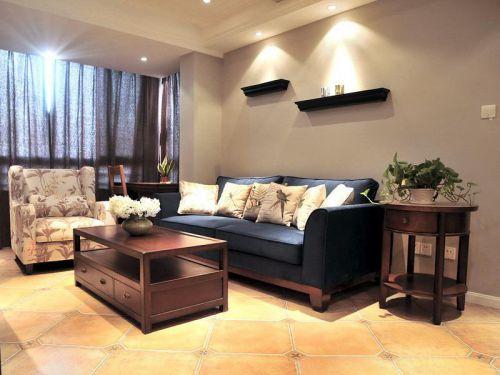 美式客厅装修图