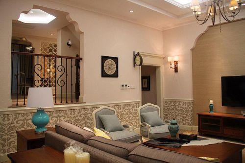欧式美式客厅案例展示