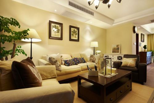 美式复古客厅设计方案
