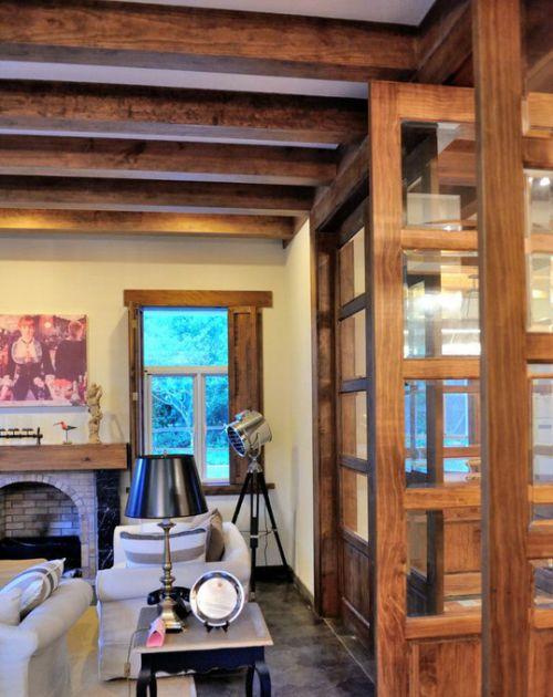 美式客厅别墅图片
