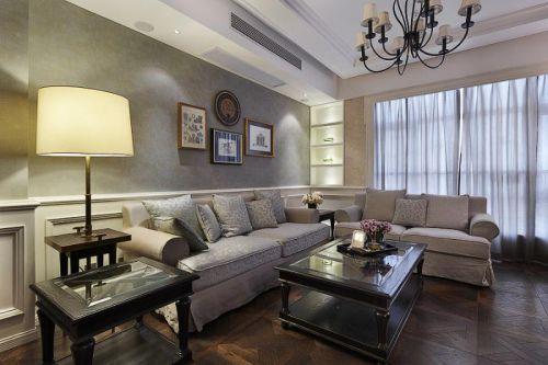 美式混搭客厅装修案例