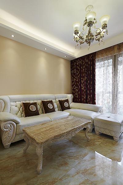 现代简约欧式美式客厅设计图