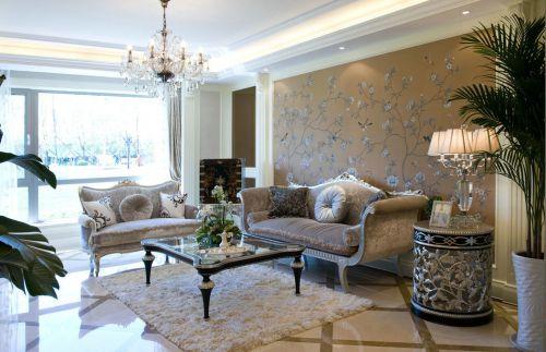 美式客厅吊顶设计案例
