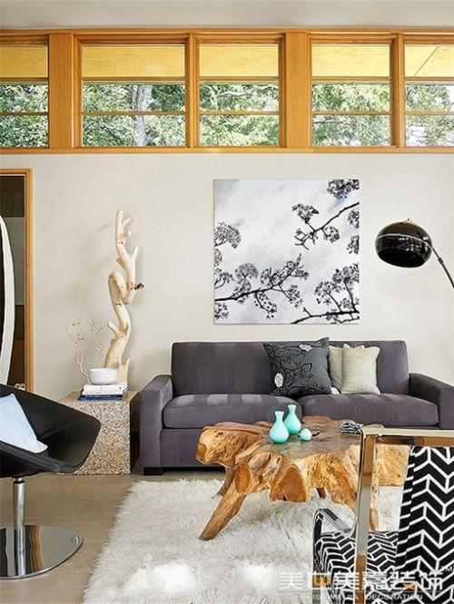 田园美式田园风格客厅别墅设计案例