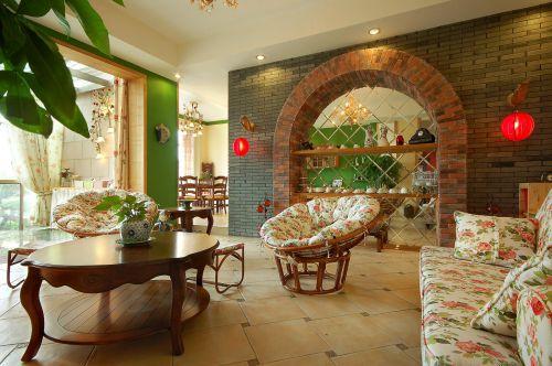 田园客厅设计案例