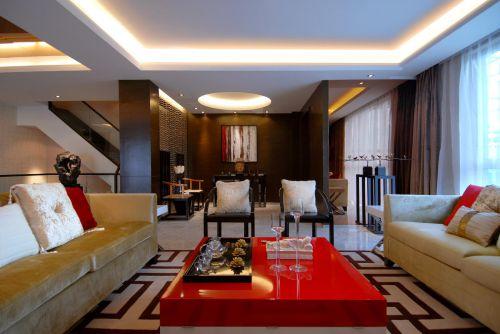 中式地中海客厅图片