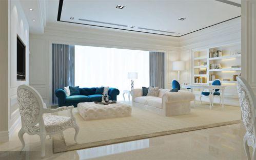 地中海简欧客厅设计案例展示