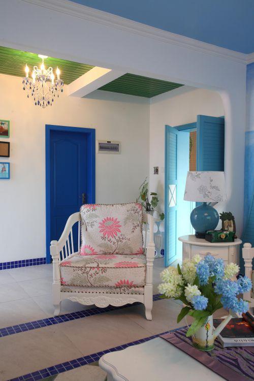田园地中海客厅图片