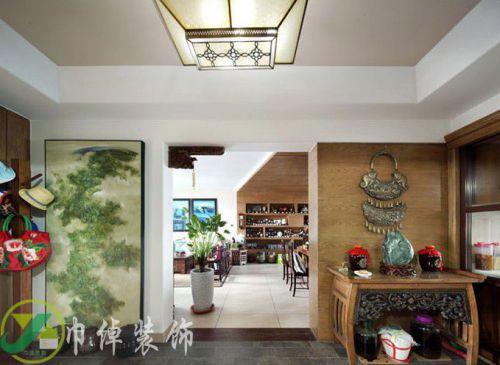 混搭混搭风格客厅吊顶设计案例