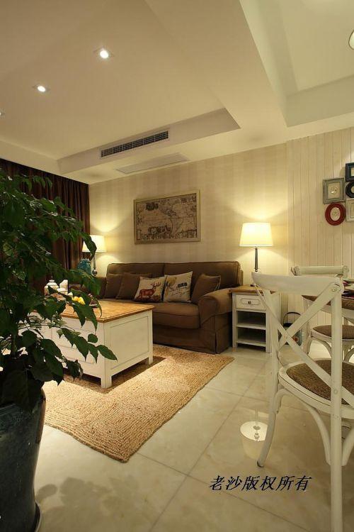 地中海美式客厅设计案例展示