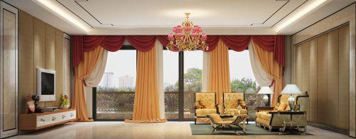 欧式混搭客厅图片
