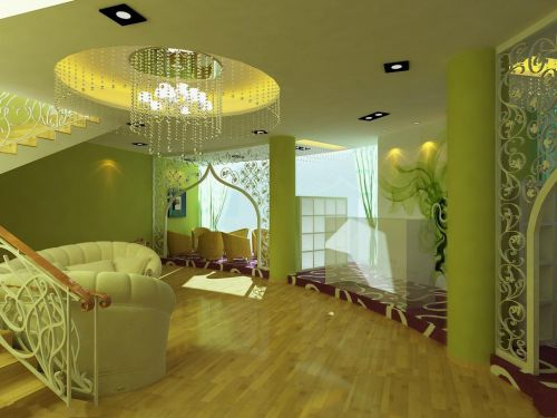 地中海创意客厅设计方案