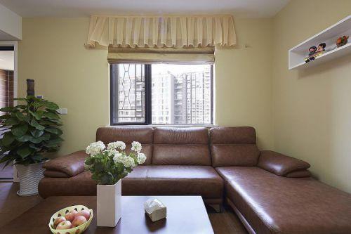 地中海美式清新客厅设计方案