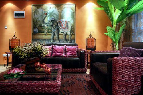 东南亚客厅案例展示