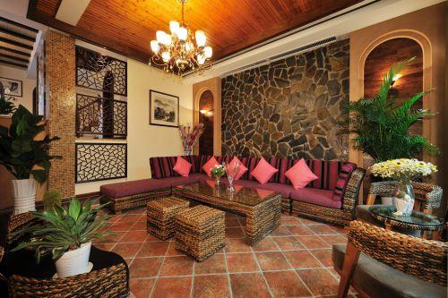 东南亚客厅设计案例展示