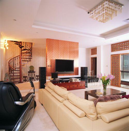 混搭客厅复式楼设计图