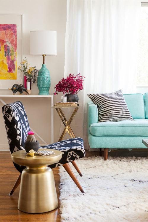 混搭复古沙发椅子椅设计案例