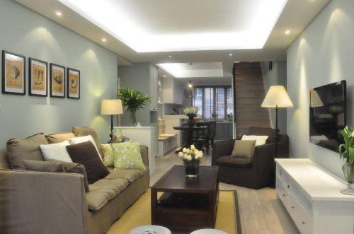 美式混搭客厅设计案例