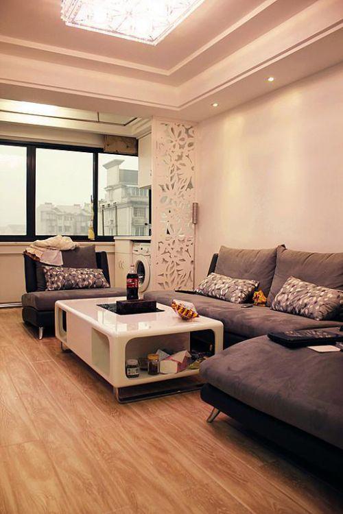 现代简约美式混搭客厅案例展示