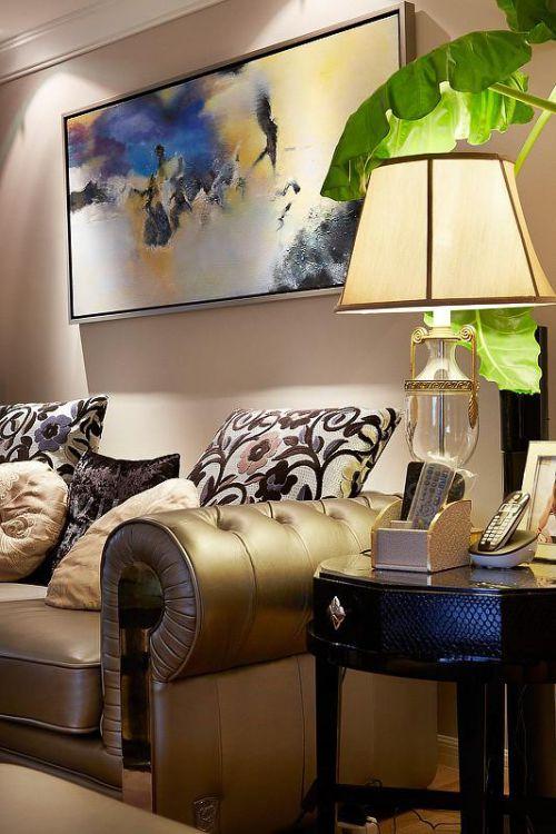 欧式新古典混搭客厅设计案例