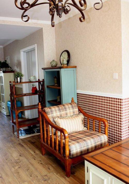 田园美式混搭客厅设计案例展示