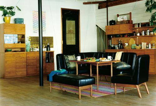 日式客厅收纳装修图