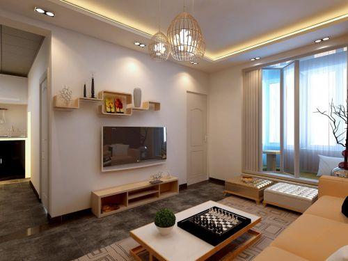 现代简约日式客厅装修图