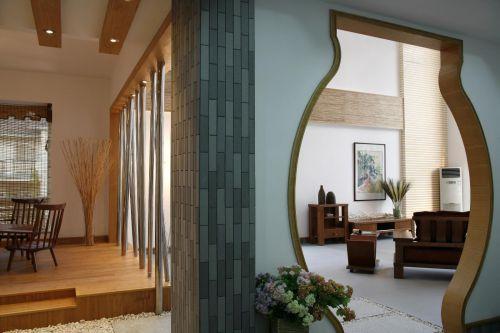 日式客厅效果图