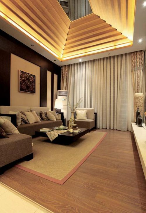 日式客厅装修图