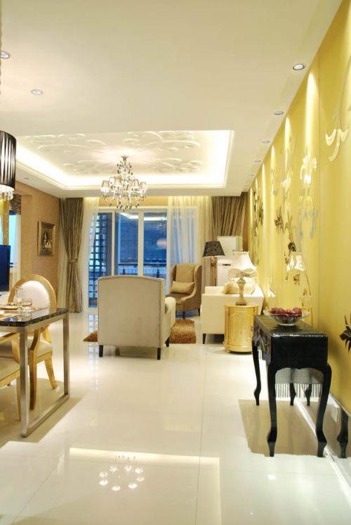 现代简约简欧美式客厅设计案例展示