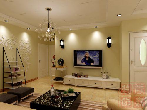 简欧简欧风格客厅背景墙电视背景墙图片