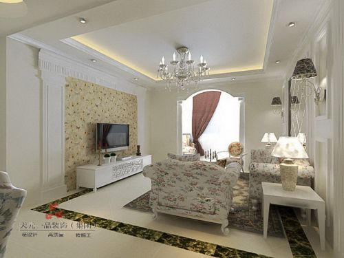 简欧简欧风格客厅设计方案