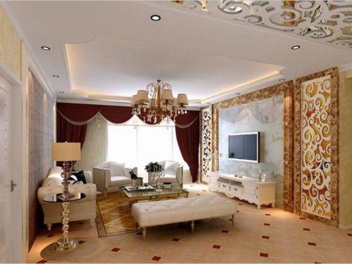 简欧简欧风格客厅设计案例