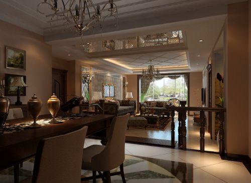 欧式欧式风格餐厅设计方案