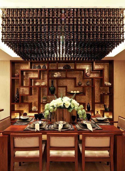中式餐厅装修效果展示