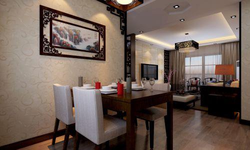 中式餐厅吊顶案例展示